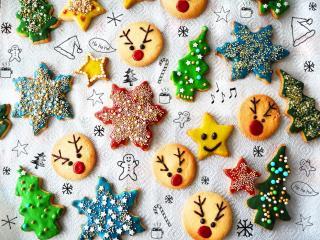 Weihnachtsplätzchen Rezept / Przepis na świąteczne ciasteczka