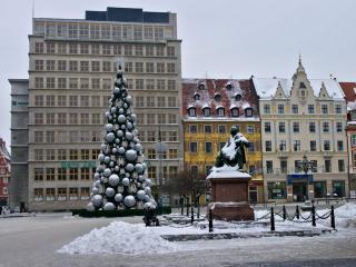 Wrocław zimą / Breslau in Winter