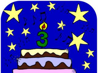 My blogs birthday :)