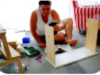 Woman at work :D