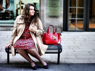 673: Plus Size leo with a trench coat