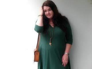 Grünes Asos Kleid