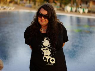 644: First canarian outfit - panda bears on Gran Canaria