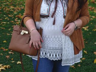 Warm autumn layered look