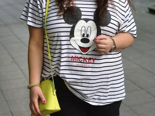 Mickey plus size shirt
